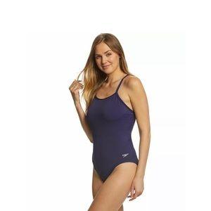 Speedo Precision Pleat Y Back Starry Swimsuit 10